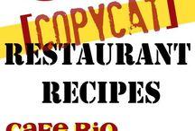 Copycat Foods/Drinks-Various Restaurants / Let's Dine In Tonight!!