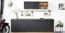 Our Kitchens / Our mission is to reintroduce the sense of quality in  an affordable, bespoke scandinavian design.