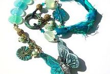 Starry Road Studio Jewelry! / Jewelry made using Starry Road Studio components...