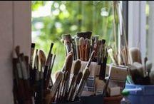 Atelierimpressionen / Einblicke ins Atelier
