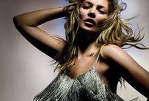 Kate Moss para Topshop P/V 2014 / La coleccion estara disponible a partir del 30 de abril en Topshop, Nordstrom y Netaporter.