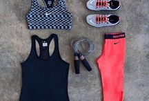 Active Apparel / Workout gear to get fit in style.