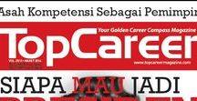 Cover Majalah / Cover majalah Top Career Magazine   Topcareer.id