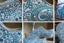 Great Handpainted Shoes / Shoes pinted by me. Hope u like! If you want you can commit me a pair of shoes... I'd be happy to paint them ;)