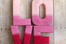 Decoração com letras / DIY Projects with Letters / Decoração com letras