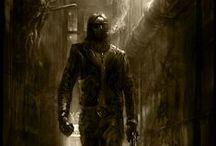 Vampire (Gangrel) / Vampire The Masquerade ( LONDON )