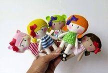 Moldes - Bonecas e Bonecos / Moldes para bonecos pano, feltro...