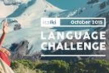 italki LANGUAGE CHALLENGE | October 2015 / 6 hours in 2 weeks! Have your first real conversation in a new language, or take the language you are learning to the next level! / by italki