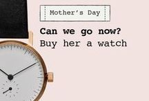 Dezeen Watch Store's Mother's Day gift guide / Your mum lavished time on you when you were little. Now it's time to repay the favour. Check out Dezeen Watch Store's gift guide for Mother's Day. / by Dezeen Watch Store