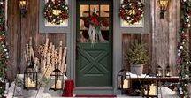 Christmas Decor / Inspiration for holiday decorating