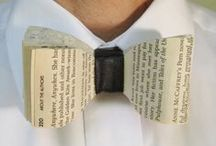 Book Art / Art from old books.  Please note: Eckerd College Library does not condone the defacing of library books for any purpose.  If you would like to use books for art, please use discarded books from the library or used bookstores instead. / by Eckerd College Library