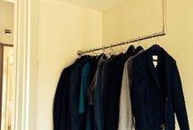 ULIBOOK // Kleiderstangen & Garderobenstangen / ULIBOOK zeigt dir immer aktuelle Garderoben und Kleiderstangen unserer Kunden. Kleiderstange in Wandmontage ... unter Dachschrägen ... als Deckenmontage.