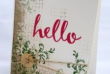 Stampin' up cards, tips and tricks
