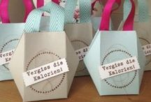 Stampin' up boxes, bags and... / boxes and bags made with stampin up products - Verpackungen mit Stampin up