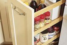 Decorando cozinhas / Ideias de moveis, toalhas, organização e tudo mais que possa ser usado em cozinhas.