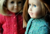 Tricot pour poupée / Knitting for dolls / by Sophie Trahan