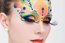 makeup / watercolours makeup