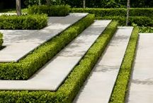 Landscape design inspirations / Sources of inspiration for garden and paving design layouts and features