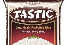 Tastic Product Range / Tastic Parboiled Rice is the ultimate versatile comfort food. We all love a hot steaming bowl of rice accompanying our favourite chicken casserole or mom's homemade curry.   That's why we at Tastic are very passionate about rice.     Our promise that Tastic Rice cooks perfectly every time is a promise that we have stood by with pride ever since our parboiled rice was introduced to South Africa and to your dinner table in 1961