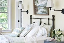 Home: Retreat to the Bedroom / Inspiration to create a soothing space I want to not only sleep in.