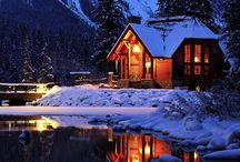 Snowy Cottages / I like cottages ...