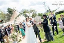 """The Wedding Ceremony / Ideas for readings, decorations and seating plans for the very special moment of the day """"The Wedding Ceremony""""."""