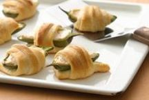 Food: Before We Eat / Appetizer recipes for parties, barbecues, and just because.