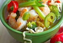 Food: Soup ~n~ Chowder Recipes / Winter comfort food includes clam chowder, chili, and all things soup related.