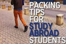 Study Abroad (Florence, Italy) Travel Tips / Travel tips for students planning to study abroad in Italy recommended by SACI - Studio Art Centers International, Florence.