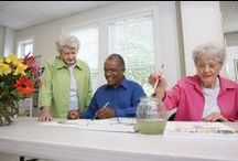Senior Resources / Do you have questions about senior living? This board will help.