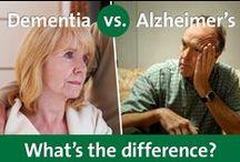 Dementia Information and Resources / Resources to better understand dementia.