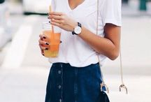 ss style / Spring and summer fashion and style