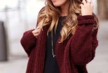 aw style / Autumn and winter fashion and style