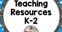 Teaching Resources K-2 / This is a board for Teaching Resources for K-2.  You will find activities, games, worksheets, printables and ideas for Teaching K-2.  For every paid product please pin 1 freebie, or repin 1 from the board.  To be added to the board please email mylittlelesson@hotmail.com