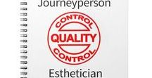 Journeyperson Esthetician / If your looking to become a Journeyperson Esthetician these are the resources you'll need.