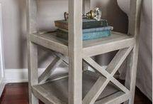 Furniture Ideas / Inspiring ideas for interior and exterior furniture options.