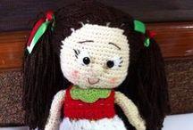 Amigurumi - muñecos tejidos / Crochet muñecos https://www.facebook.com/cynthiahandmade Todo lo de este tablero está hecho por mi.