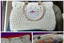 Carteras / Bolsas / Monederos - Coin Purse - Purse / Crochet https://www.facebook.com/cynthiahandmade Todo lo de este tablero está hecho por mi.
