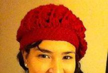 Hats crochet / Gorros - Sombreritos / Knit and crochet  https://www.facebook.com/cynthiahandmade Todo lo de este tablero está hecho por mi.