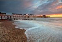 Suffolk Coast / The Suffolk coast is a breath of fresh air, with beautiful beaches of fine golden sand and rolling shingle stretching for 45 miles.