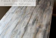 Weathered Wood Finish / Weathered wood finish pins!
