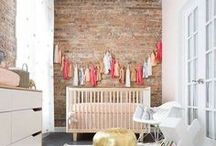 Nursery Inspiration / Inspirational photos to decorate your little one's nursery. #baby #nursery