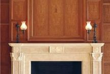 FIREPLACE Mantels and Surrounds / Pictures DIRECTLY LINKED to company websites - Fireplace mantels and surrounds