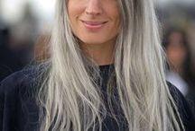 Lange Haare natürlich / Natürliche lange Haare und Haarpflege, Zopffrisuren, Flechtfrisuren, Haarseifen und festes Shampoo