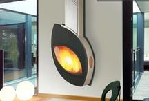 FIREPLACES Indoor / Pictures DIRECTLY LINKED to company websites - Fireplace indoor, wood, gas, electric