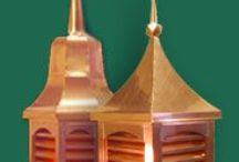 CUPOLAS - Finials - Weathervanes / DIRECT LINKS to company websites CUPOLAS, Weathervanes, Finials, Weather Stations