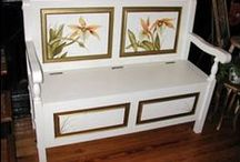 FURNITURE Hand Painted / DIRECT LINKS to company websites - Artisan Hand Painted Furniture