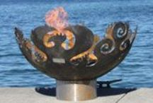 FIREPLACES Outdoor Fire Pits Chimineas / Photos are LINKED DIRECTLY to the company websites - fireplace outdoors, fire pits, chimineas