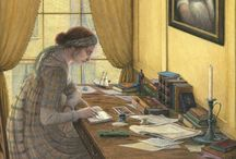 Angela Barrett Illustration*