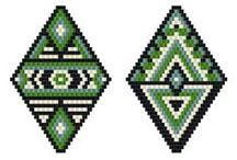 Grilles Peyote / Modèles de grilles pour tissage peyote
